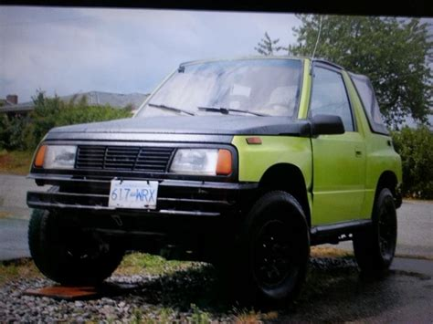 Lifted Suzuki Sidekick by 1989 Suzuki Sidekick 4x4 Lifted Clean Ready To Go Outside