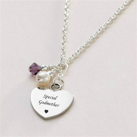 how to make engraved jewelry engraved necklace with birthstone and pearl