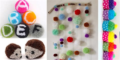 www crafts 38 pom pom crafts and diys diy projects for