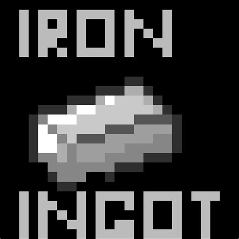 minecraft iron iron ingots in minecraft images