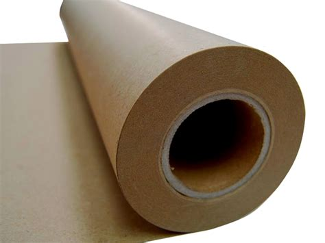 brown craft paper roll new kraft brown packaging paper roll 600mm x 50m 80gsm
