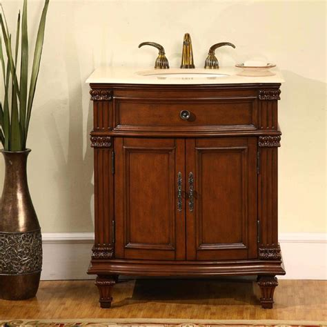 30 5 perfecta pa 124 bathroom vanity single sink cabinet cherry finish marble bathroom