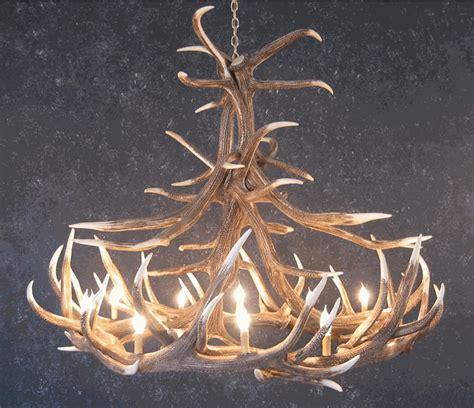 deer antler chandelier for sale elk 12 antler chandelier sale