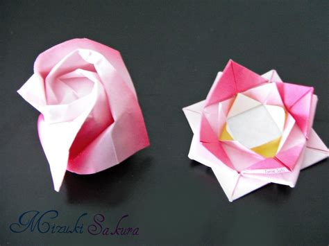 origami types 2 types of origami by mizukisakura on deviantart