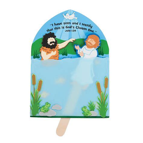 baptism crafts for to make baptism of jesus craft kit decoration crafts crafts for