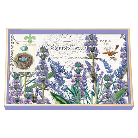 michel design works decoupage tray lavender rosemary decoupage wooden vanity tray by michel