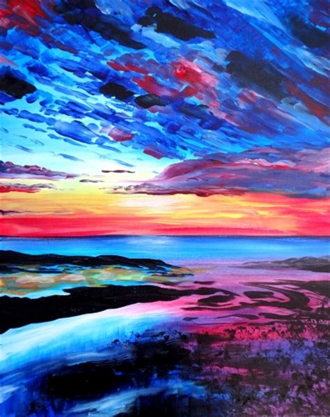 paint nite calgary march 22 paint nite drink creatively california delta chambers