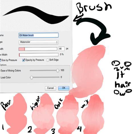 lineless tutorial paint tool sai lineless hair tutorial by thatbunniebxtch on deviantart