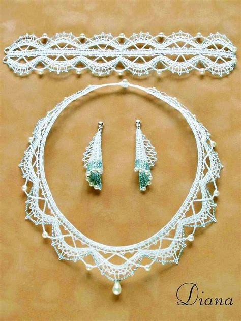 things to make jewelry 214 best images about bobbin lace and other jewellery on