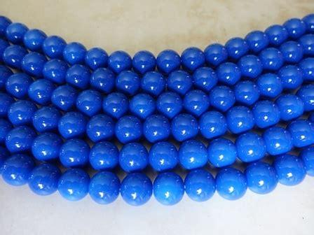 bead emporium opaque blue glass bead 8mm bead emporium