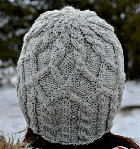 knit picks cables merrick cabled hat pattern aknitica