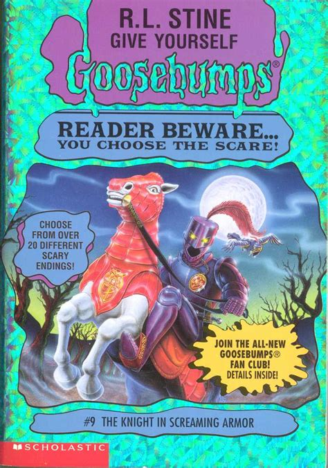 list of goosebumps books with pictures give yourself goosebumps