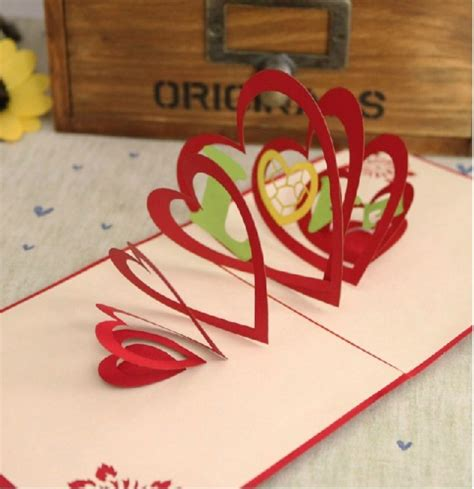 how to make the best day card how to make pop up handmade cards