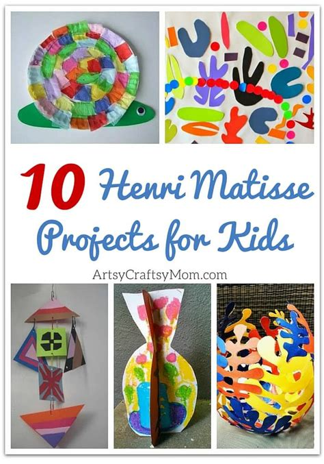craft painting projects top 10 henri matisse projects for artsy craftsy