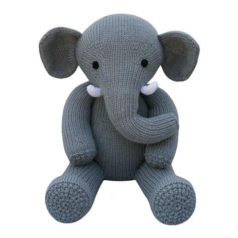 knitted elephant free pattern elephant knit a teddy knitting pattern by knitables