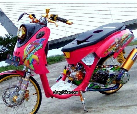 Modif Mio Soul Drag by Foto Modifikasi Motor Drag Mio Soul Modifikasi Yamah Nmax