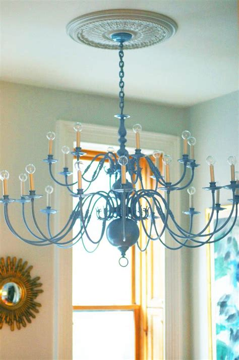 chandelier painting 25 best ideas about spray painted chandelier on