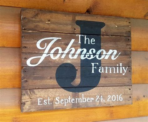 the 25 best family name signs ideas on last