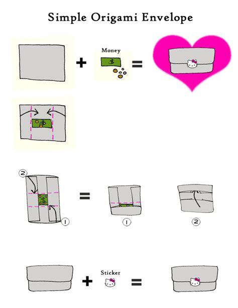 how do you make an origami envelope origami coin envelope comot