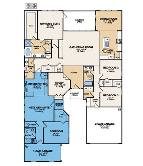 home within a home floor plans genesis next the home within a home by lennar