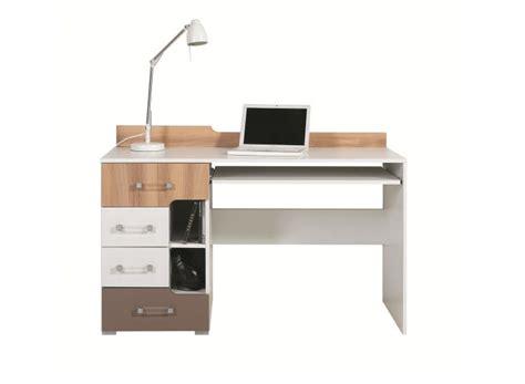 bureau ado en bois pas cher bureau avec support clavier