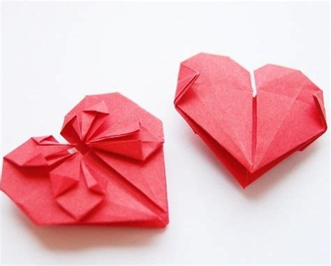 origami for valentines day family origami activity for s day district of