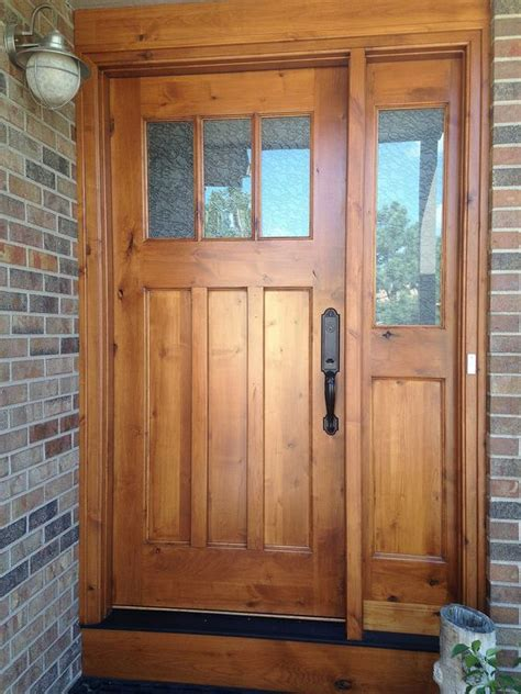 front entry doors with one sidelight 27 cool front door designs with sidelights shelterness