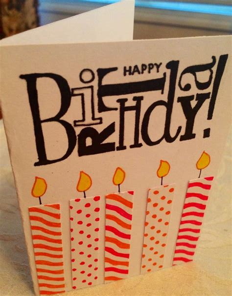 how to make cool birthday cards easy birthday card crafts diy