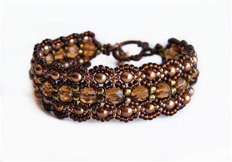 how to make a beaded cuff beaded bracelet magic