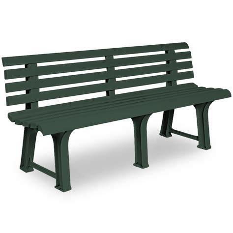 plastic patio bench bench garden seater plastic outdoor patio furniture