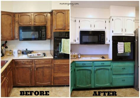 diy chalk paint kitchen remodelaholic diy refinished and painted cabinet reviews