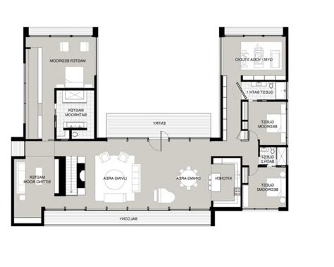 style homes with interior courtyards style house plans with interior courtyard