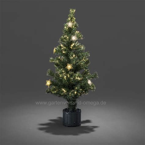tisch weihnachtsbaum led fiberoptik weihnachtsbaum 90cm gr 252 n deko