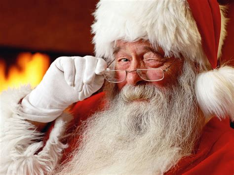 santa claus letter from santa reveals he watches everyone all the time