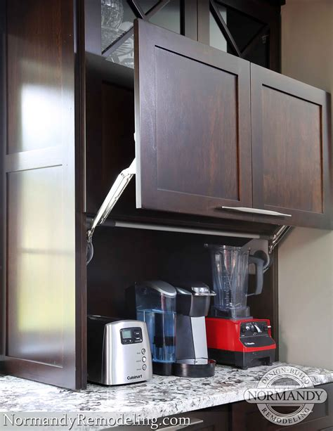 Island Kitchen Design a new generation of appliance garages normandy remodeling