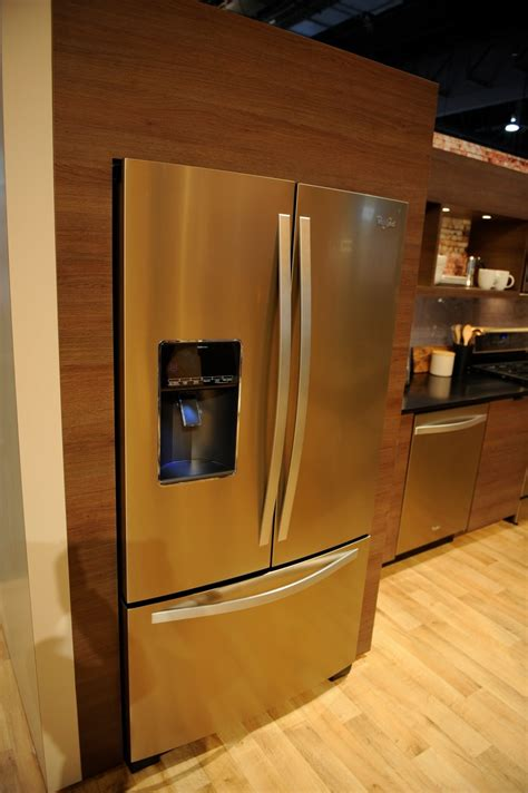 copper colored appliances up with whirlpool s new sunset bronze finish