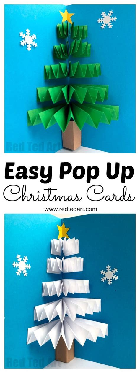 how to make a pop up tree card diy pop up card paper folding techniques