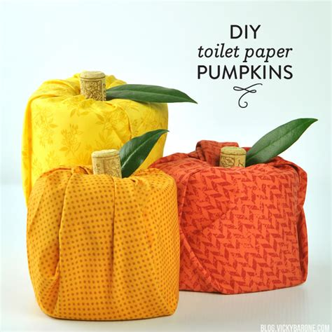 toilet paper pumpkins craft diy toilet paper pumpkins barone