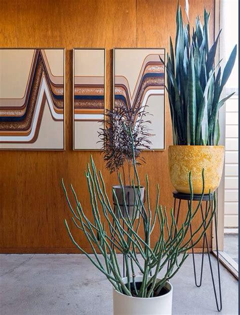 mid century planters mid century indoor planters