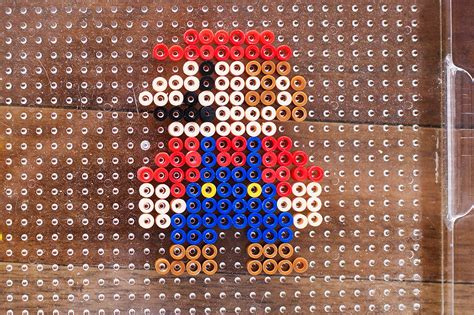 bead up stand up perler bead characters with mario all for the boys