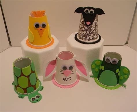 paper cup animals craft 25 best ideas about paper cup crafts on
