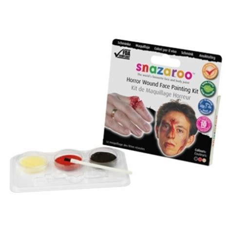 horror wound painting kit snazaroo painting kit horror wound