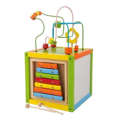 bead maze cube wooden bead maze cube with abacus by leomark new ebay