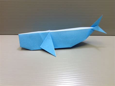 how to make an origami whale daily origami 119 whale