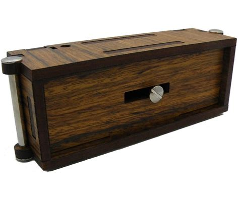 woodworking puzzle box streichholzbox matchbox secret wooden puzzle box
