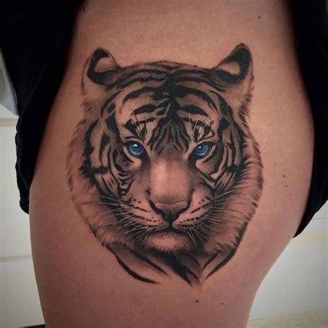 25 best ideas about tiger tattoo on pinterest white