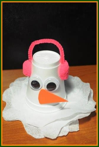 winter crafts for to make easy see what our crafty critters are up to