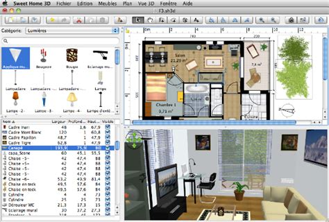 home design software 3d sweet home 3d programma progettazione interni gratis