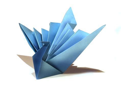 origami birds easy origami bird origami tutorial how to make an easy