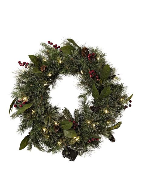 pre lit battery operated wreath with timer pre lit wreaths pre lit battery operated door wreaths
